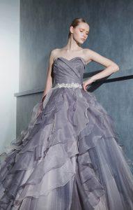 大人カラーのグレードレス