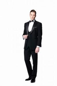 結婚式で新郎がレンタルする定番のタキシード227