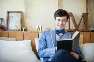 新郎の結婚式準備について