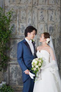 結婚式で新郎がレンタルするネイビーのモーニング773