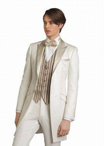 結婚式で新郎がレンタルするフロックコート855