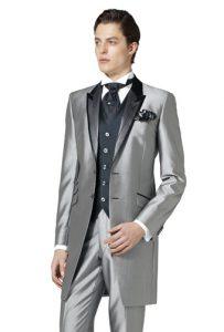 結婚式で新郎がレンタルするフロックコート854
